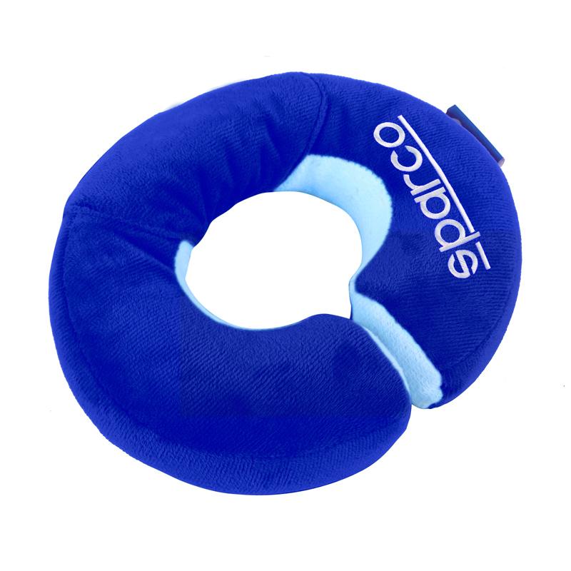 Poduszka podróżna dla małego dziecka SPARCO kids niebieska